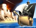لعبة الدفاع عن الحصن ضد القراصنة