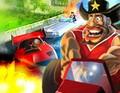 لعبة سباق سيارات الجزر