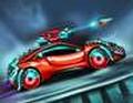 لعبة سباق سيارات الروبو