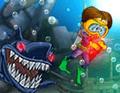 لعبة هجوم القرش