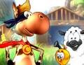 لعبة مغامرات البقرة القوية
